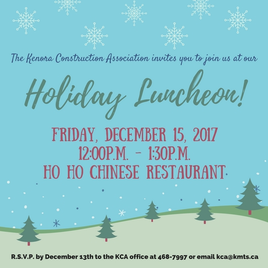 KCA Holiday Luncheon Invitation - December 15, 2017